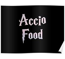 Accio Food Poster