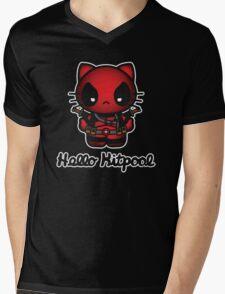 hello kitpool Mens V-Neck T-Shirt