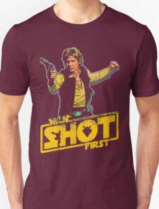Han Shot First Style T-Shirt