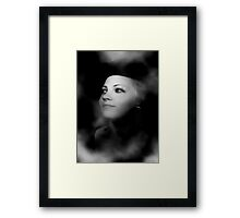 Model of Perfection Framed Print