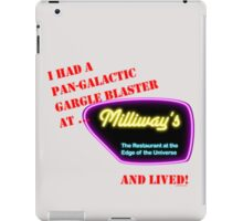 Milliways, Restaurant at the Edge of the Universe iPad Case/Skin