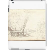 The Artillery Drawing, 16th century explosives and fireworks, by Walther Litzelmann 6 iPad Case/Skin