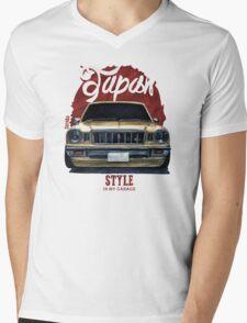 Japan car in my garage Mens V-Neck T-Shirt
