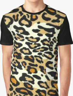LEOPARD-PRINT Graphic T-Shirt