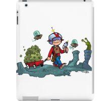Walking on the moon... iPad Case/Skin
