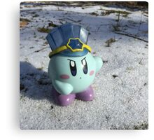Ice Kirby Cools Off Canvas Print