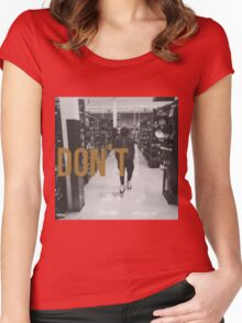 Don't Bryson Tiller HD Women's Fitted Scoop T-Shirt