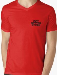 Boy Better Know Smal Logo T- shirt  Mens V-Neck T-Shirt