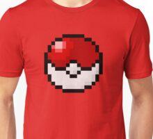 Pixel Poké Ball Unisex T-Shirt