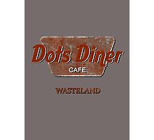 Dots Diner Cafe - Wasteland Photographic Print