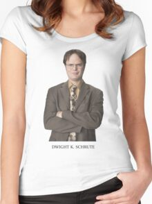 Dwight K. Schrute Women's Fitted Scoop T-Shirt