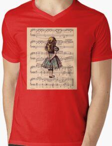 Vintage Mens V-Neck T-Shirt