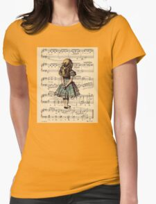 Vintage Womens Fitted T-Shirt