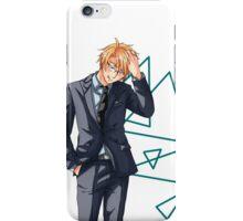 Suit Issue 01 iPhone Case/Skin