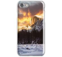 Yosemite Valley in Winter iPhone Case/Skin