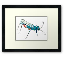 Cool Insect Framed Print