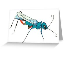 Cool Insect Greeting Card