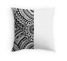 Patterns and Circles Throw Pillow