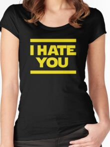 Hate Women's Fitted Scoop T-Shirt