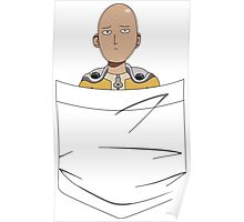 Caped Baldy Pocket Tee Poster