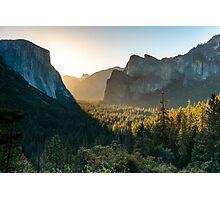 Sunrise at Yosemite Photographic Print