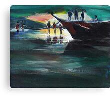 Fishing Line Canvas Print