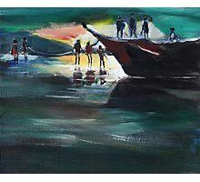 Fishing Line Photographic Print