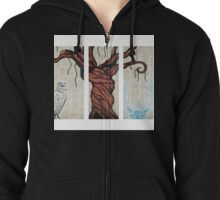 Wizarding Willow Zipped Hoodie