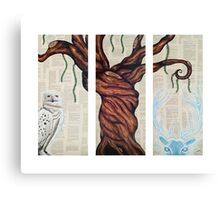 Wizarding Willow Canvas Print