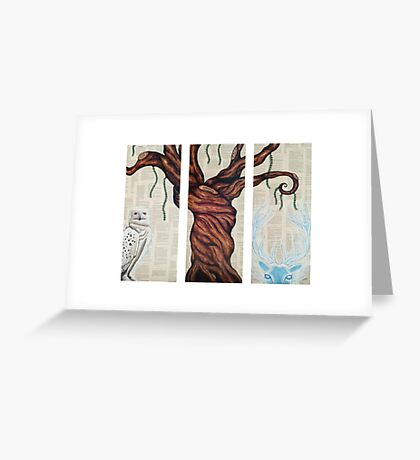 Wizarding Willow Greeting Card