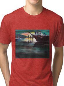 Fishing Line Tri-blend T-Shirt