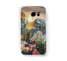 Forest Scene Paper Collage Samsung Galaxy Case/Skin