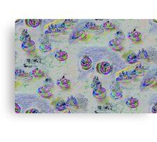 Bumper Boats Canvas Print