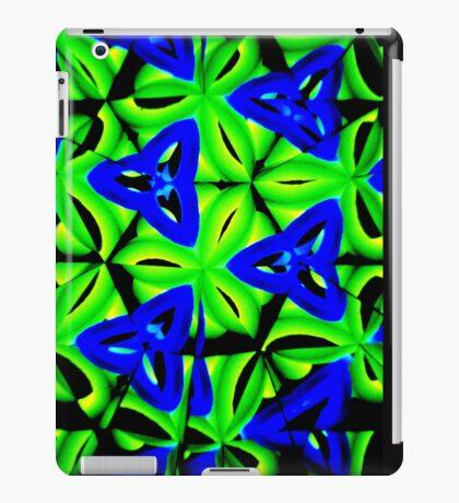 Blue Boomarang iPad Case/Skin