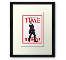 Time - Lord !  Framed Print
