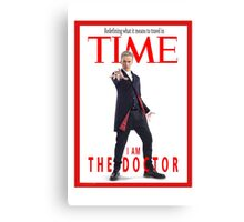 Time - Lord !  Canvas Print