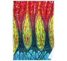 Island Three Trees Poster