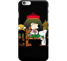 Dogs playing poker iPhone Case/Skin