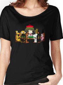 Dogs playing poker Women's Relaxed Fit T-Shirt