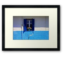 Big Blue Calm Framed Print