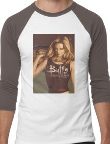 Buffy Season 8 Men's Baseball ¾ T-Shirt