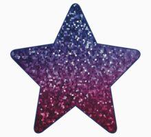 Mosaic Sparkley Texture Kids Tee