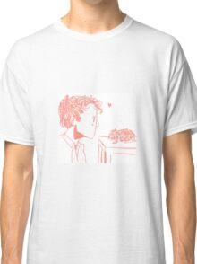 Castiel and His Guinea Pig Classic T-Shirt