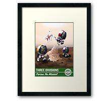 Kerbal Space Program: Pursue the Mission! Framed Print