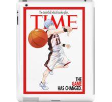 Time - Kuroko iPad Case/Skin