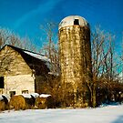 Barn in Winter by Pauline Evans