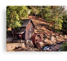 """""""Gresham Mill in October""""... prints and products Canvas Print"""