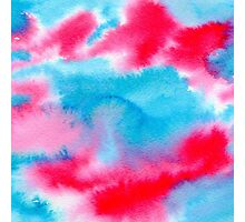 Bright watercolor texture Photographic Print