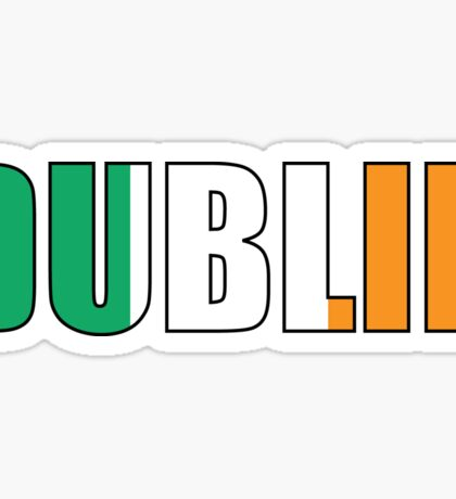 Dublin Sticker