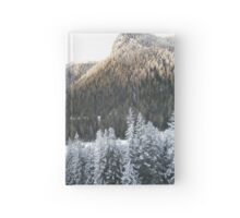 Mountain Evergreen Forest Hardcover Journal